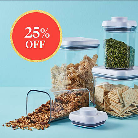 Save on Select OXO Good Grips® Open Stock Pop Containers. Shop Now