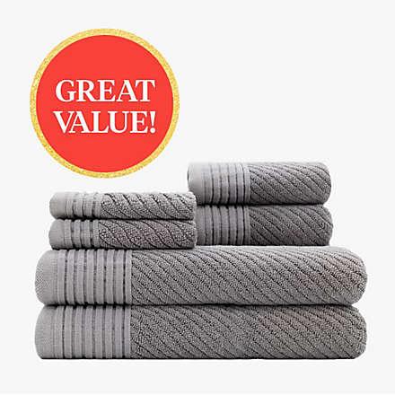 $19.99 6-Piece Towel Set. Shop Now