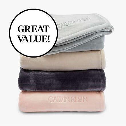 New! Calvin Klein Throw for $19.99. Shop Now