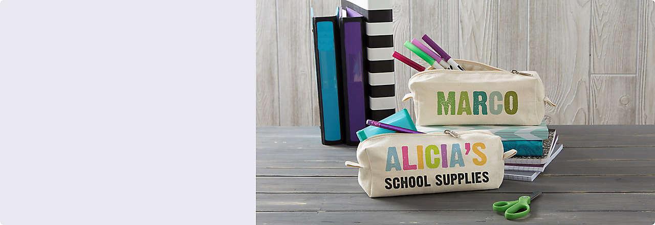 Personalized School Gear