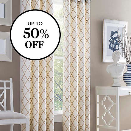 Save 50% off select curtains & accessories!. Shop Now