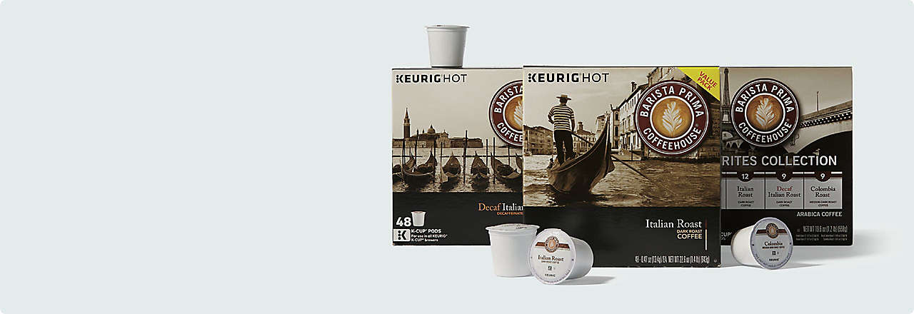 20% off Select Keurig Coffeehouse kCups