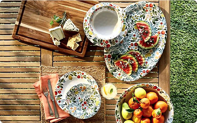 Outdoor Dinnerware & Serveware