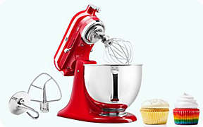 $80 off KitchenAid® 5qt Mixer. Valid thru 9/2.. Shop Now
