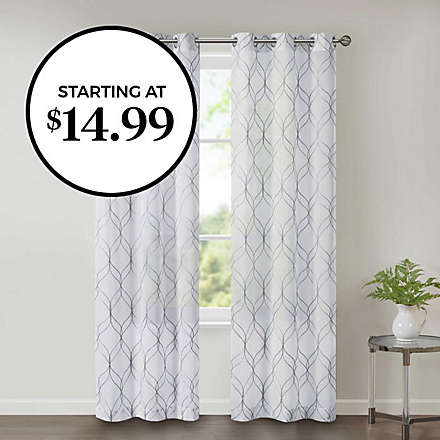 Wow-Worthy Deal: 2-Pack Window Panels. Shop Now