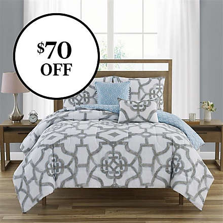 5-Piece 100% Cotton Comforter Sets. Shop Now