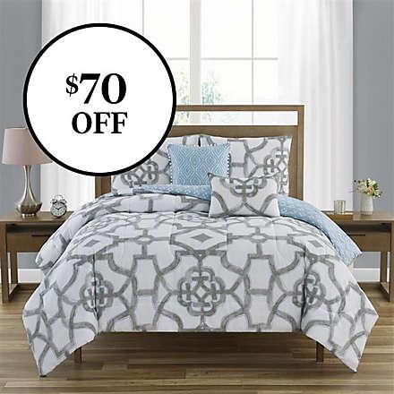 5-Piece 100% Cotton Comforter Sets. Shop Now