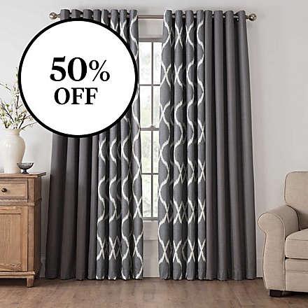 Draftblocker Room Darkening Curtains Starting at $12.49!. Shop Now