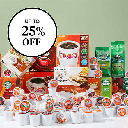 Save on Select Keurig® K-Cup® Pods & Ground Coffee. Shop Now