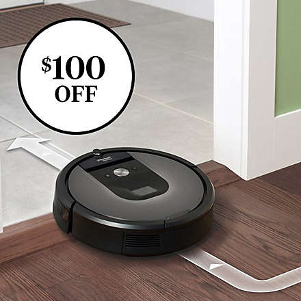 Save on the iRobot® Roomba® 960 Vacuum. Shop Now