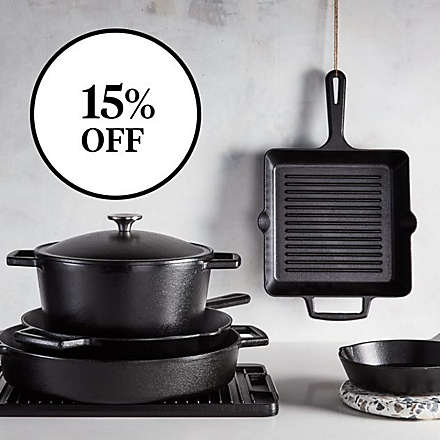Save on Select Artisanal Kitchen Supply® Pre-Seasoned Cast Iron. Shop Now
