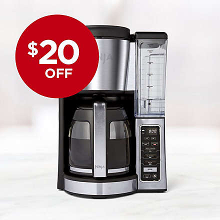 Savings on Ninja® 12-Cup Programmable Coffee Maker. Shop Now