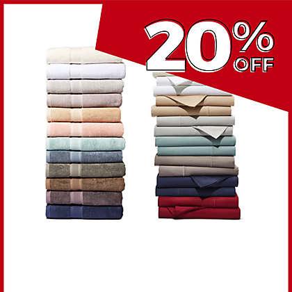 ALL Wamsutta® Pimacott® Towels and Sheets