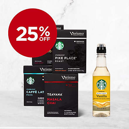 Save Big on Starbucks® Verismo™ Pods and Syrups. Shop Now