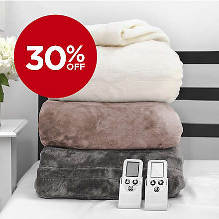 Save on Electric Blankets and Mattress Pads. Shop Now