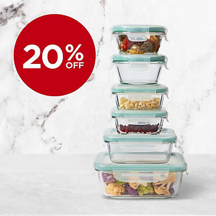 Save on All OXO Good Grips® Glass Food Storage. Shop Now