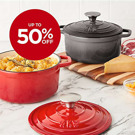 Big Savings on Artisanal Kitchen Supply® Dutch Ovens. Shop Now
