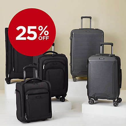 Select Brookstone® Luggage for Less. Shop Now