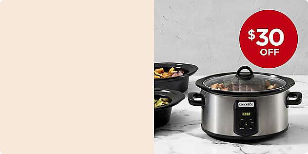 $30 OFF Crock-Pot® Programmable Slow Cooker thru 11/17