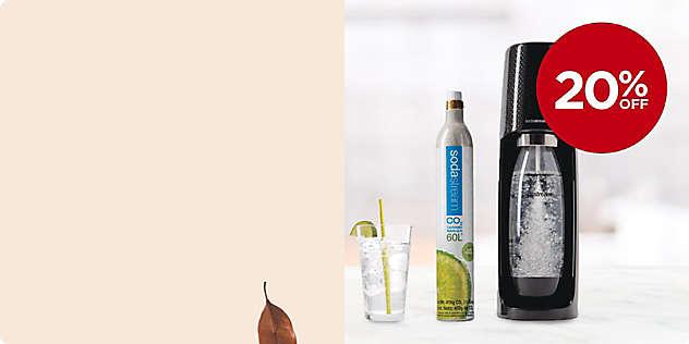 20% OFF SodaStream® Fizzi Starter Kit thru 11/17.