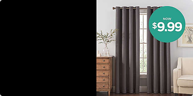 $9.99 Window Panels—All Sizes!
