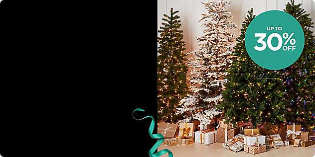Up to 30% OFF Select Christmas Decor