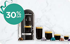 30% OFF select Nespresso® machines.. Shop Now