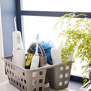 shop totes & bath storage