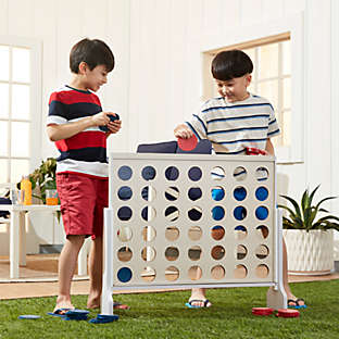 Have some friendly, competitive fun with backyard activities.