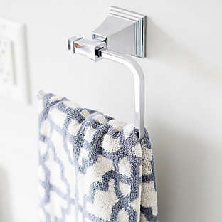 Upgrade the bath with towel warmers, cabinet knobs & more.