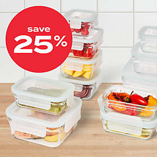 25% off food storage