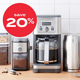20% off coffee makers