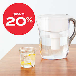 20% off Brita® water filtration pitchers