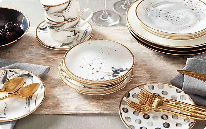 formal dinnerware