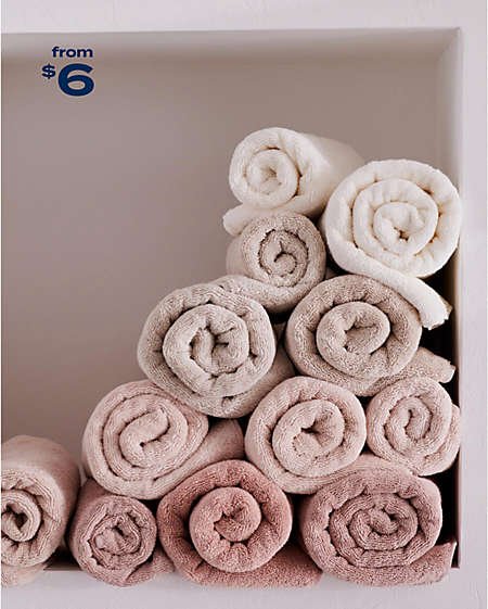 replenish with plush towels