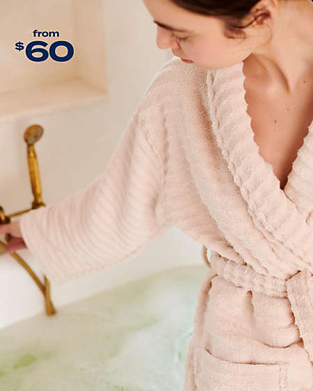 give her a spa-worthy robe