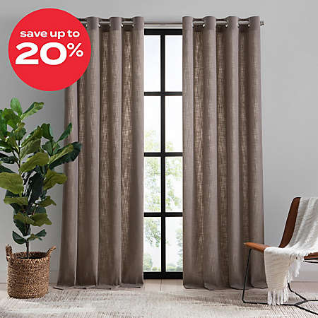 select curtains & window