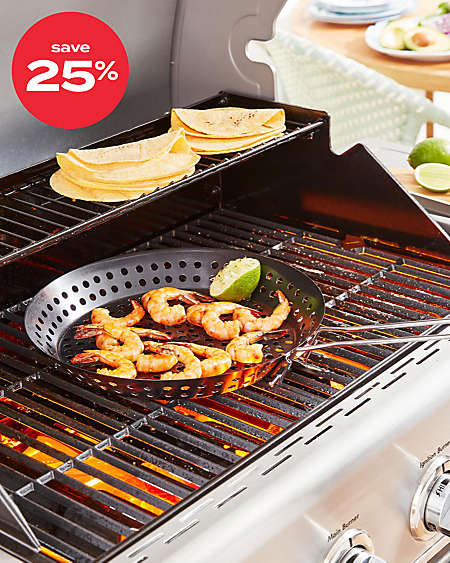 save up to 25% on select BBQ tools
