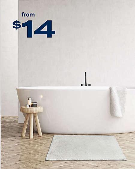 Bath Rugs Mats Bed Beyond, Home Goods Bathroom Rugs