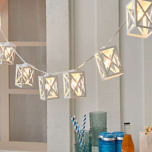 Brighten up the space with warm and inviting lighting.