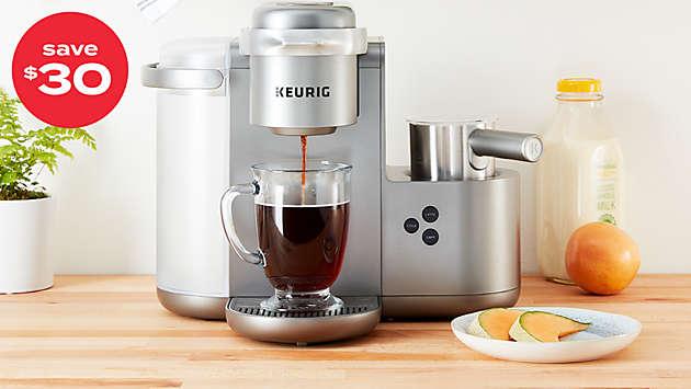 save $30 on Keurig® K-Café™ coffee, latte & cappuccino maker