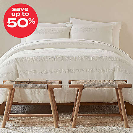 save up to 50% on UGG® bedding