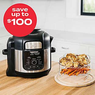 save up to $100 on select Ninja® appliances