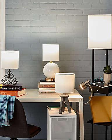 Illuminate your space with stylish lighting.