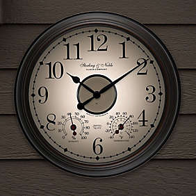 Sterling & Noble® outdoor clocks