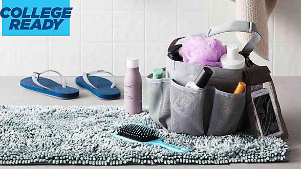 college-ready bath essentials