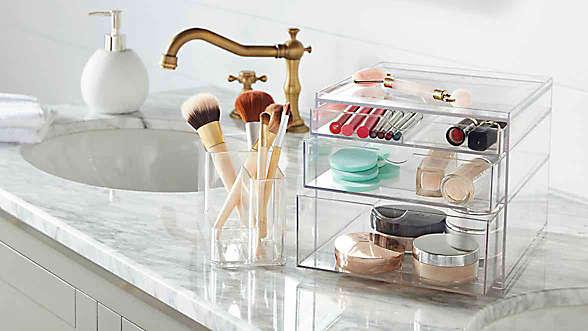 bathroom countertop storage bundle