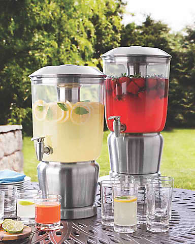 beverage dispensers and outdoor drinkware