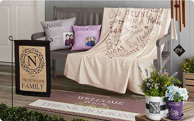 personaliozed gifts for the home