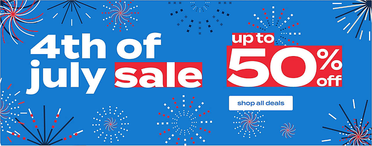 4th of July promotion upto 50% off